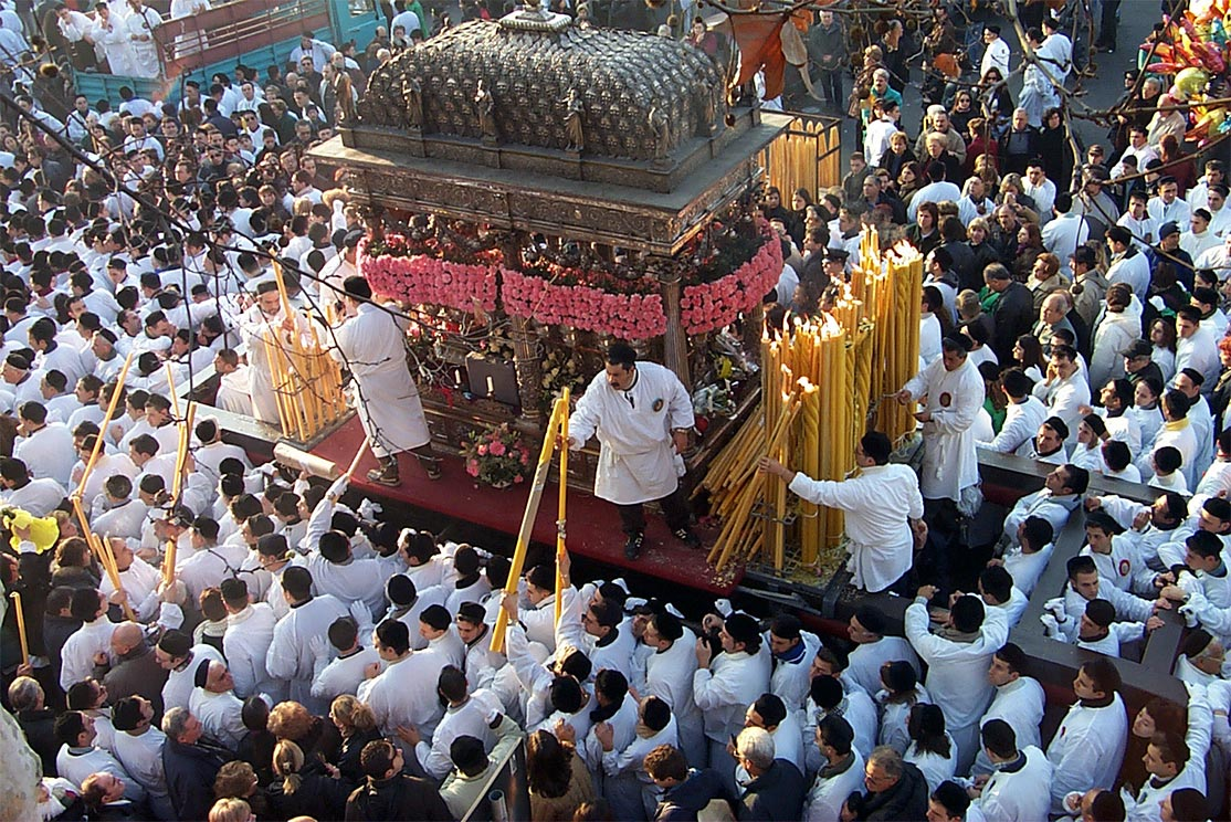 Sant'Agata: più che una festa, un vero e proprio evento annuale
